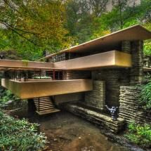 FLW's Fallingwater.  My dream home, but any of his houses would do.