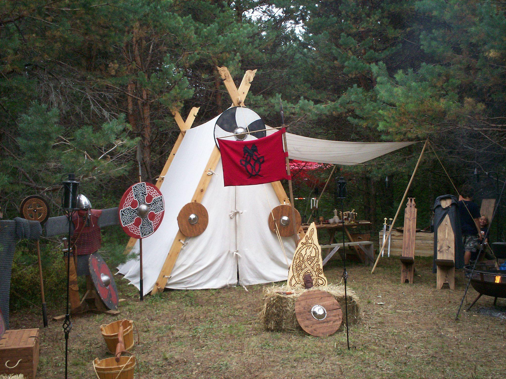 Viking tent by ~Branwulf on deviantART & Viking tent by ~Branwulf on deviantART | Camp | Pinterest ...