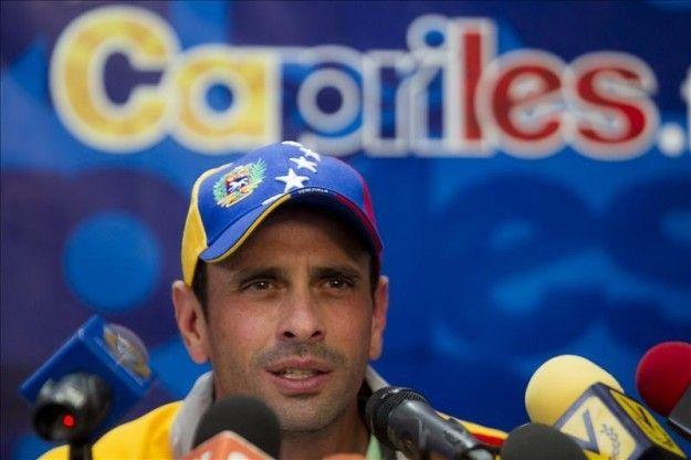 """Capriles dice que el Mercosur llega a la cumbre con """"los ojos vendados"""" por Maduro"""