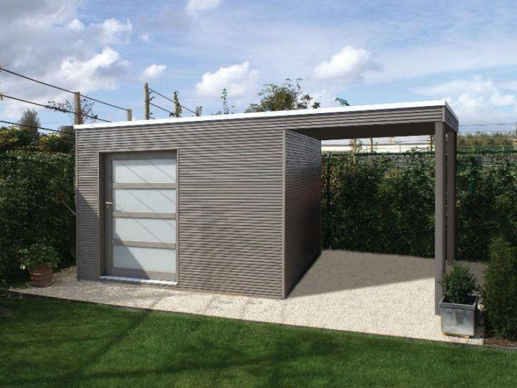 Tuinhuis met luifel, tuinhuizen, schuur, blokhut, garage