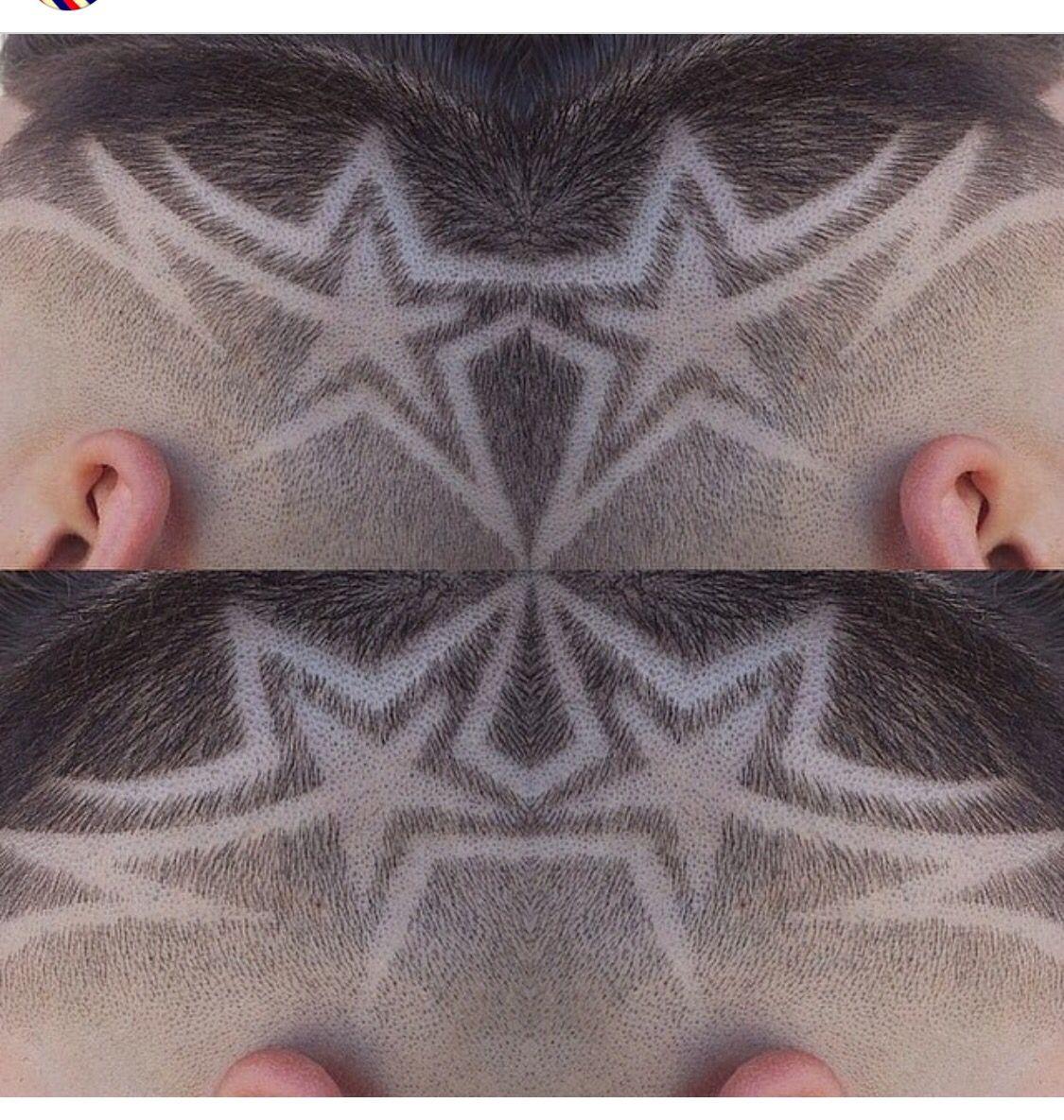 Star Design Shaved Hair Designs Hair Designs For Boys Hair Designs For Men