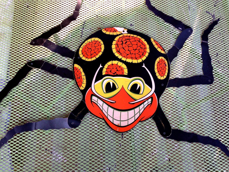 Vintage halloween paper decorations - Vintage Beistle Halloween Vintage Halloween Spider Beistle Spider Vintage Paper Decoration Vintage