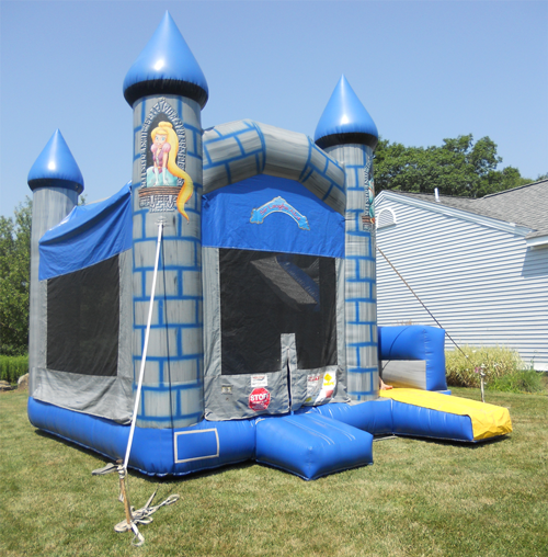 Castle Funhouse Kids Birthday Party Party Rentals Kids Birthday