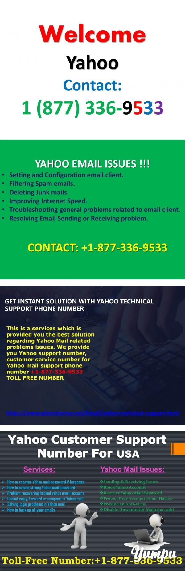 Yahoo Mail Support Number +18773369533 (TollFree