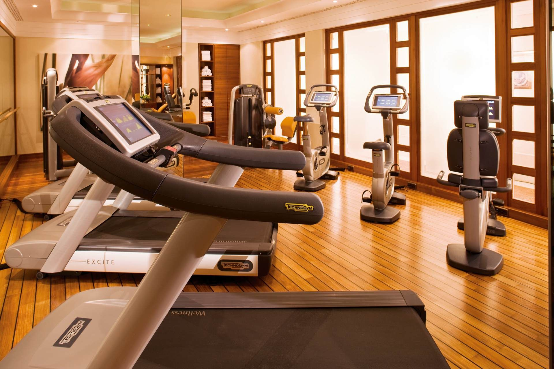 State of the art gym to keep you healthy hotel adlon