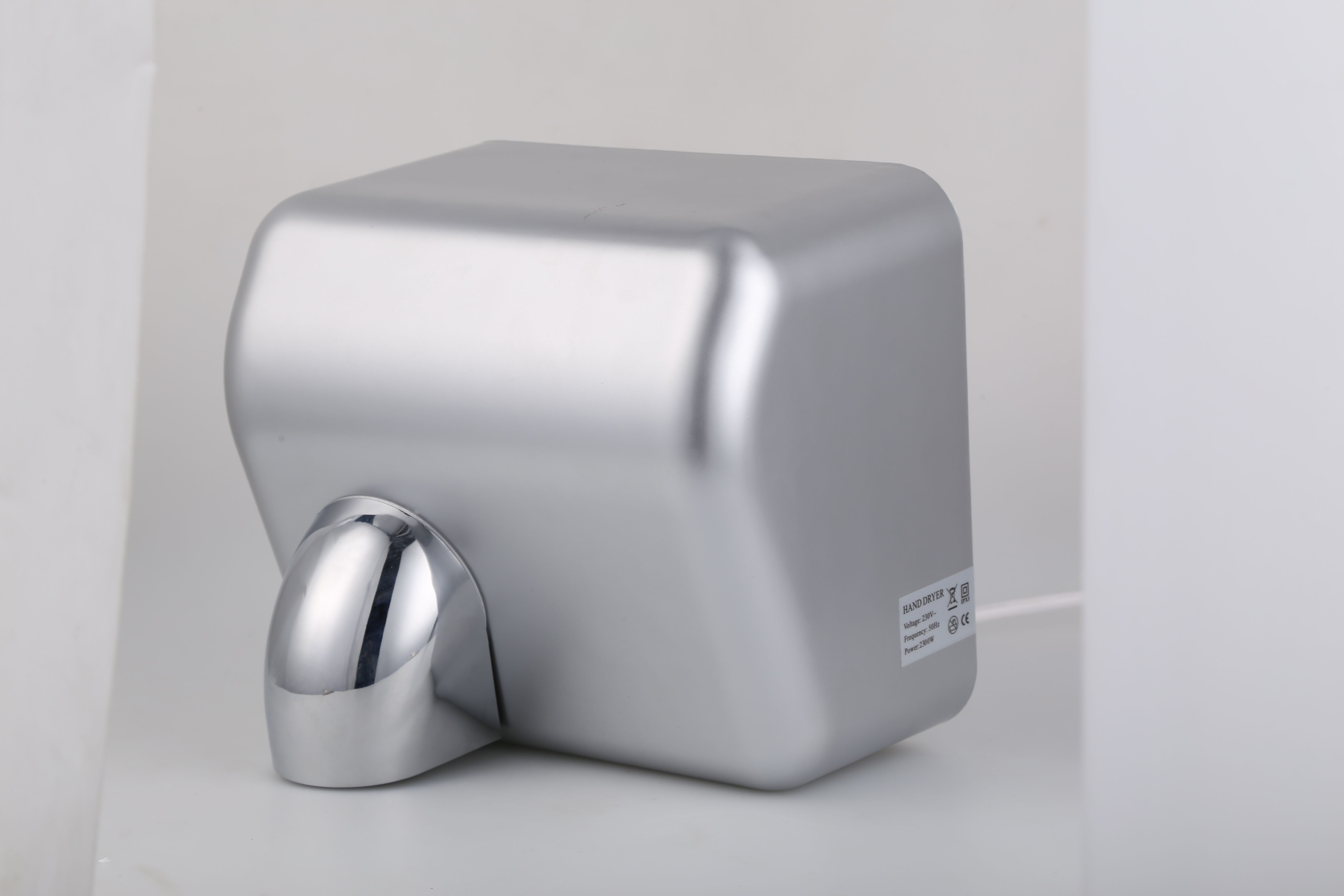 Palmer Fixture Conventional Series Automatic 110//120 Volt Hand Dryer in White