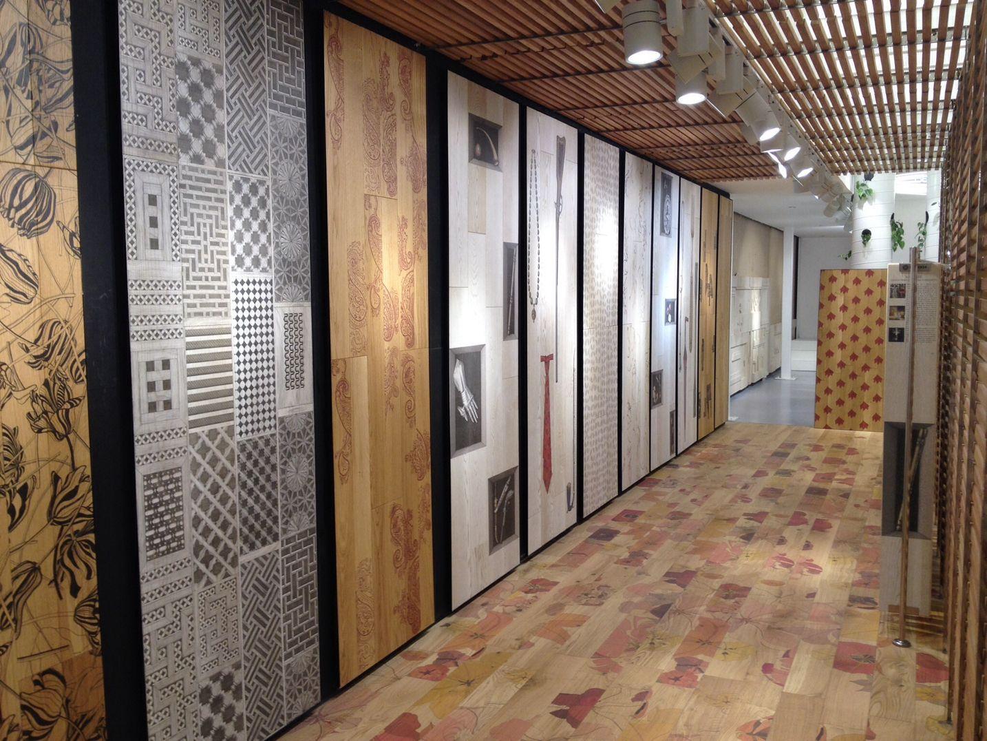 Wonderful Designed wood floors in Tel Aviv. XILO1934