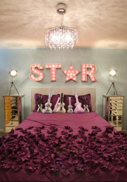 La chambre pour fille - glamour et moderne Kitsch