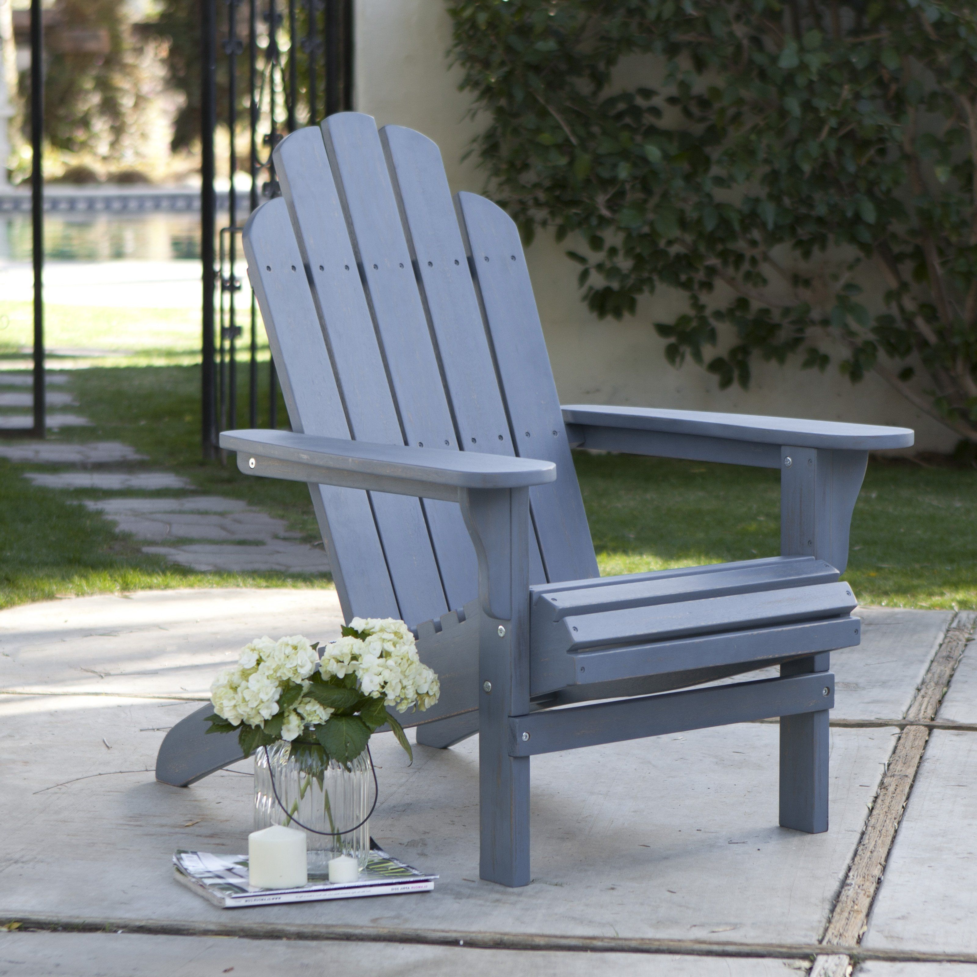 Coral Coast Big Daddy Adirondack Chair with PullOut