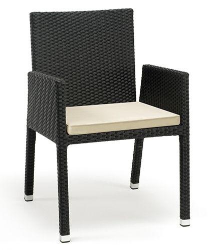 Sill n en rat n sint tico para terraza de hosteler a y restaurantes sillones individuales - Mesas y sillas de terraza para hosteleria ...