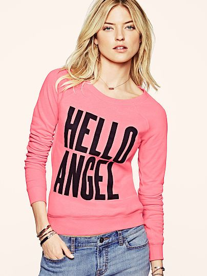 Graphic Fleece Pullover from VS. 10.99