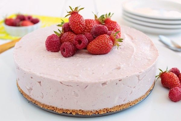 Cheesecake aux fruits rouges 7