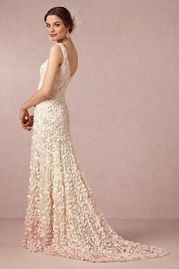 bd6d7070704 Ombre wedding dress ! Unbelievable!