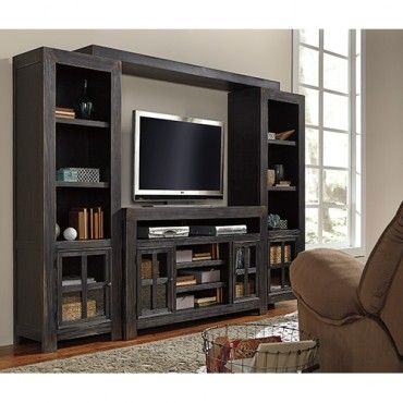 Galveston Entertainment Unit - Black - Ashley Furniture $3,39900