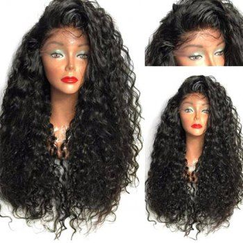 SHARE & Get it FREE | Long Curly Side Parting High Temperature Fiber Lace Front WigFor Fashion Lovers only:80,000+ Items·FREE SHIPPING Join Dresslily: Get YOUR $50 NOW!