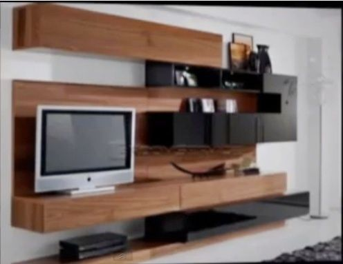 I would love one!! The bench is made from two Hemnes TV consoles from IKEA and some pine boards, stained to make the wooden top.   The link has a full wall unit, but I like it just as a bench!