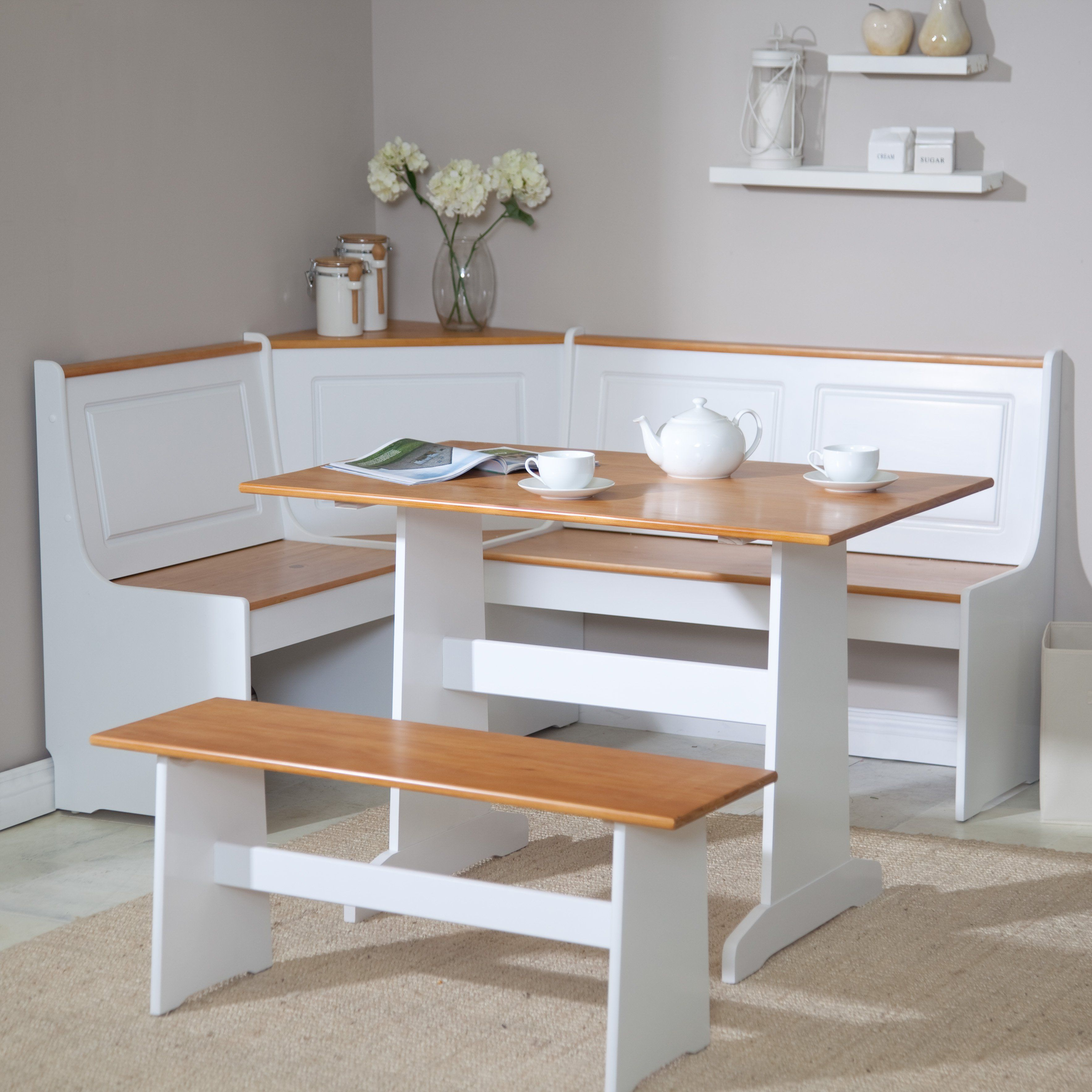 fascinating Ardmore Breakfast Nook Set Part - 1: Ardmore Nook Set - LHD419