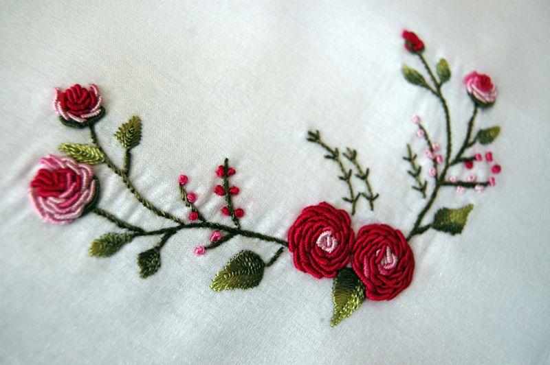 my first embroidery | Bordado y costura | Pinterest | Bordado ...