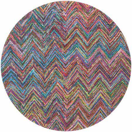 Safavieh Nantucket Akilah Hand-Tufted Cotton Area Rug, Multicolor