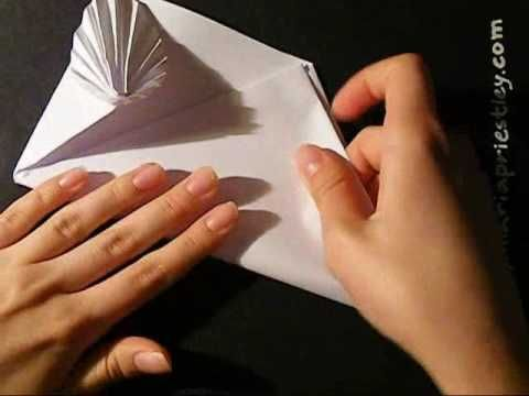 How to make an origami card / envelope - YouTube