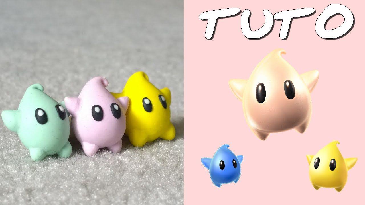 TUTO FIMO | Luma (de Mario Galaxy) ◊ FACILE ◊