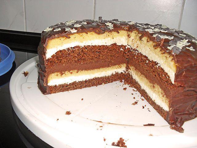 Rezept Happy Schoko Vanille Torte Torten Backen In 2019