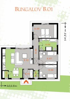 Projekty rodinných domov / od 85 do 95 m2 | ECO-DOMOV