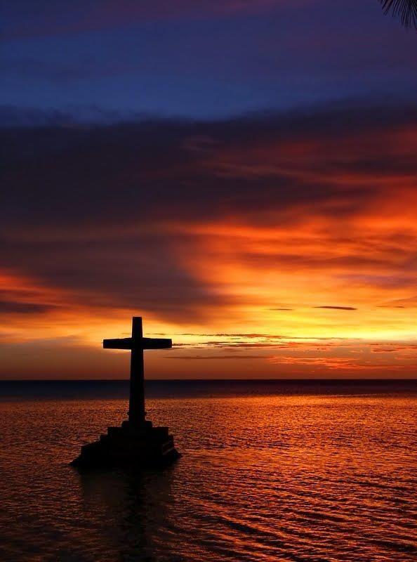 Cross Sunset The Beauty Of Nature God Jesus On The Cross