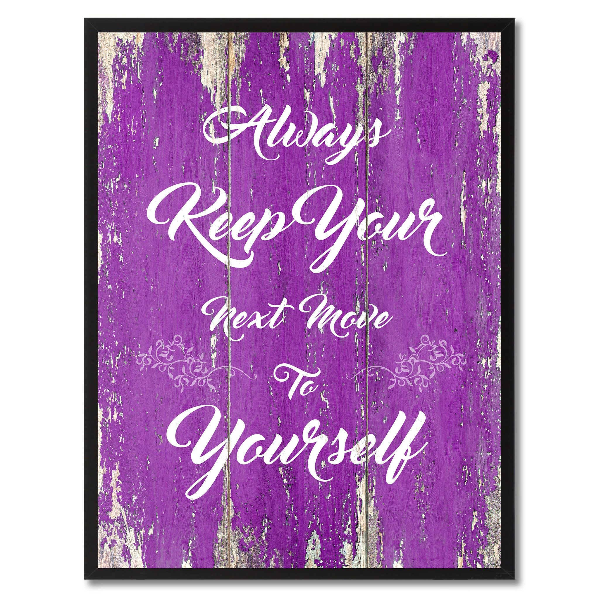 office motivation ideas. Always Keep Your Next Move To Yourself Motivation Quote Saying Gift Ideas Home Décor Wall Art Office N