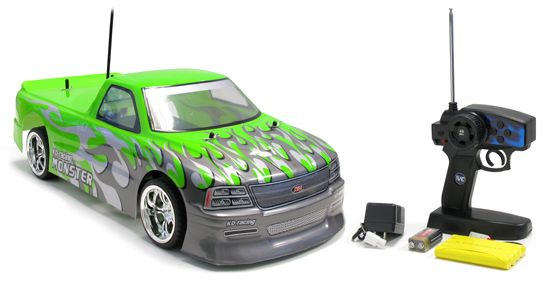 drift gt chevy silverado electric rtr rc car a super fast remote control car for kids perfect for fast corner drifting