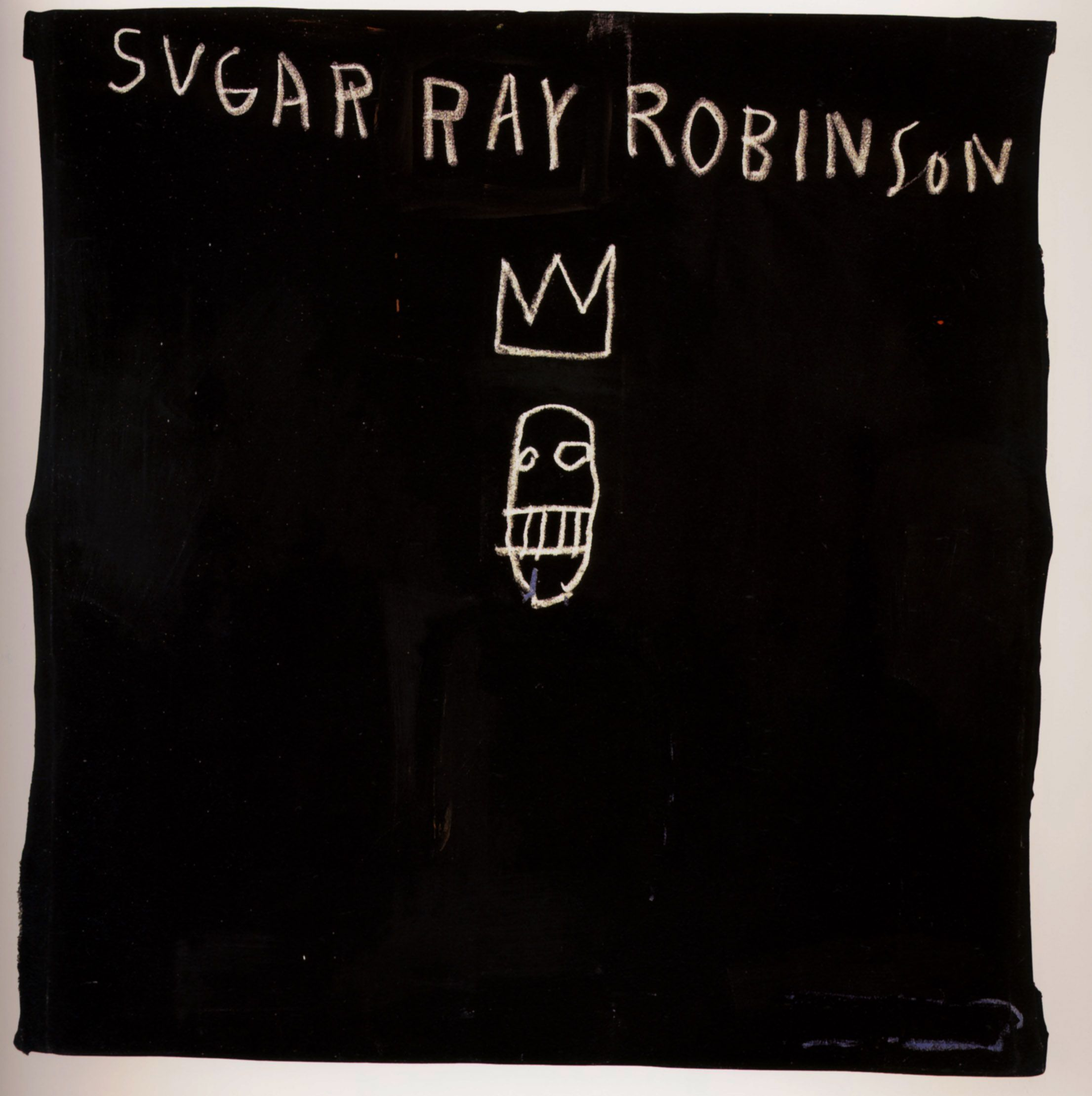 Jean-Michel Basquiat, Sugar Ray Robinson   Completion Date: 1982  Style: Neo-Expressionism
