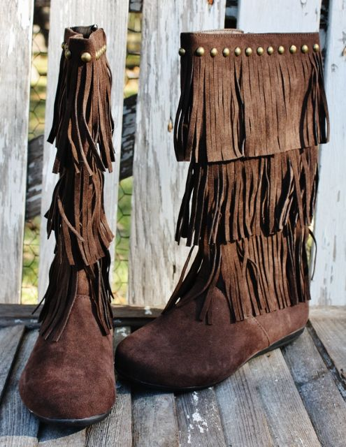 Chocolate Brown Fringe Boots | Boots! | Pinterest | Каталог ...