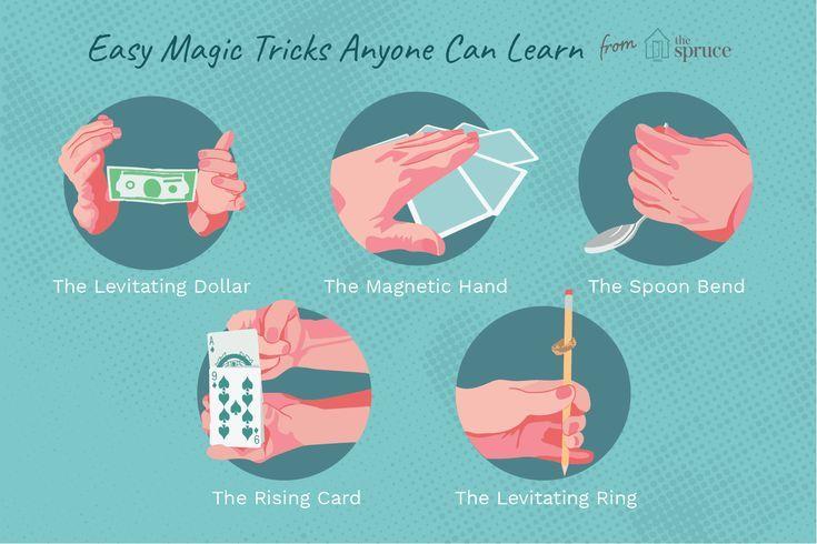 Einfache Zaubertricks Lernen