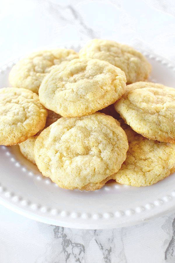 Dairy Free Chewy Sugar Cookies These soft and chewy sugar cookies are dairy free and easy to make. They are perfect for the holidays or all year round!