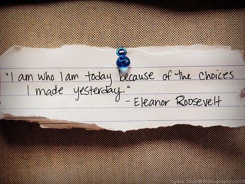 Cherish every decision