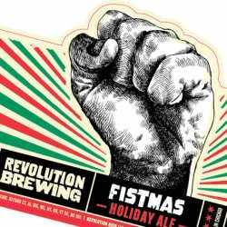 Revolution brewery's Merry Fistmas