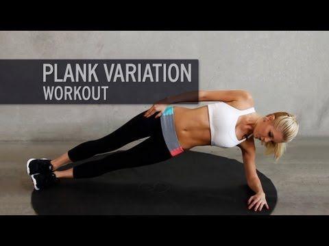 Plank-Workout: Mit Side Planks, Plank Jacks und Co. zum flachen Bauch | Wunderweib #abchallenge