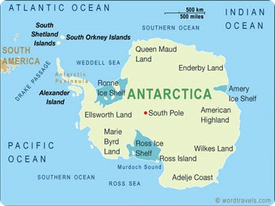 Which is the Smallest Continent in the world? | Anartica | Map ...