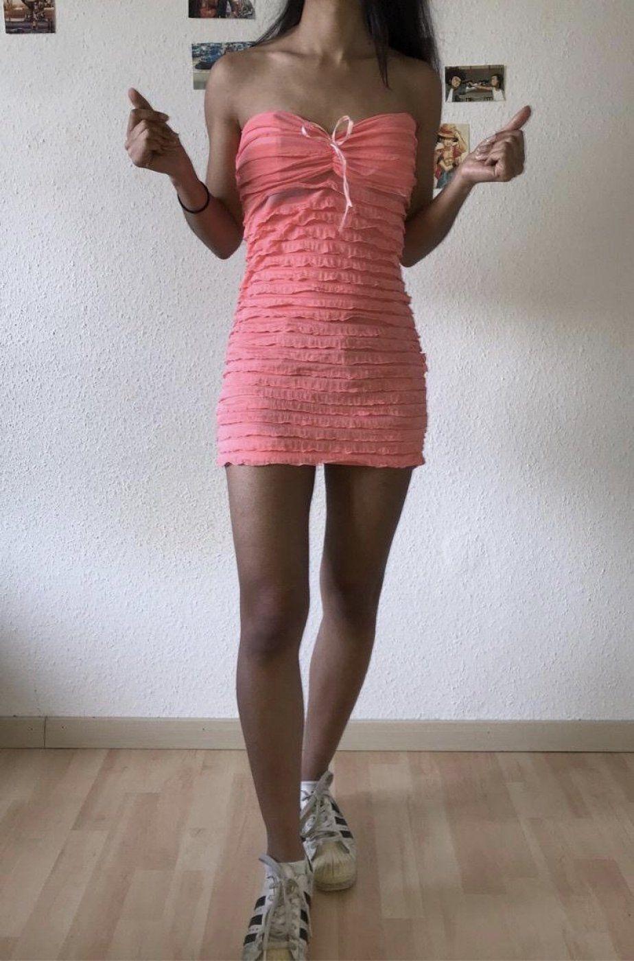 Süßes Pink Kleid für den Sommer | Mädchenflohmarkt