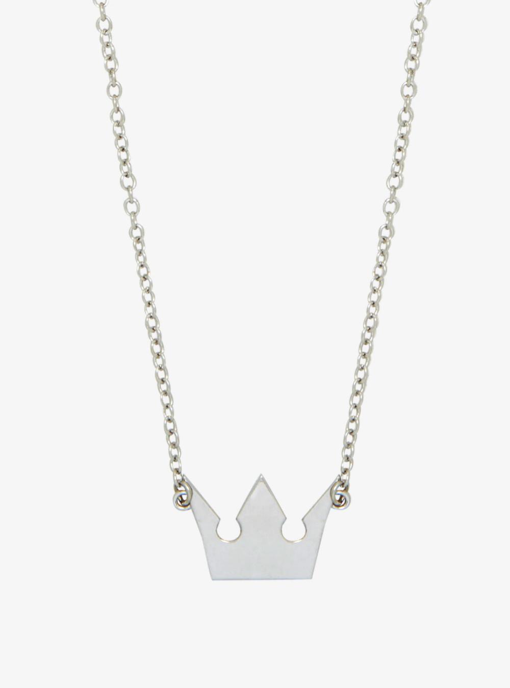 Disney Kingdom Hearts Crown Replica Pendant Necklace Kingdom Hearts Crown Kingdom Hearts Necklace Kingdom Hearts Merchandise