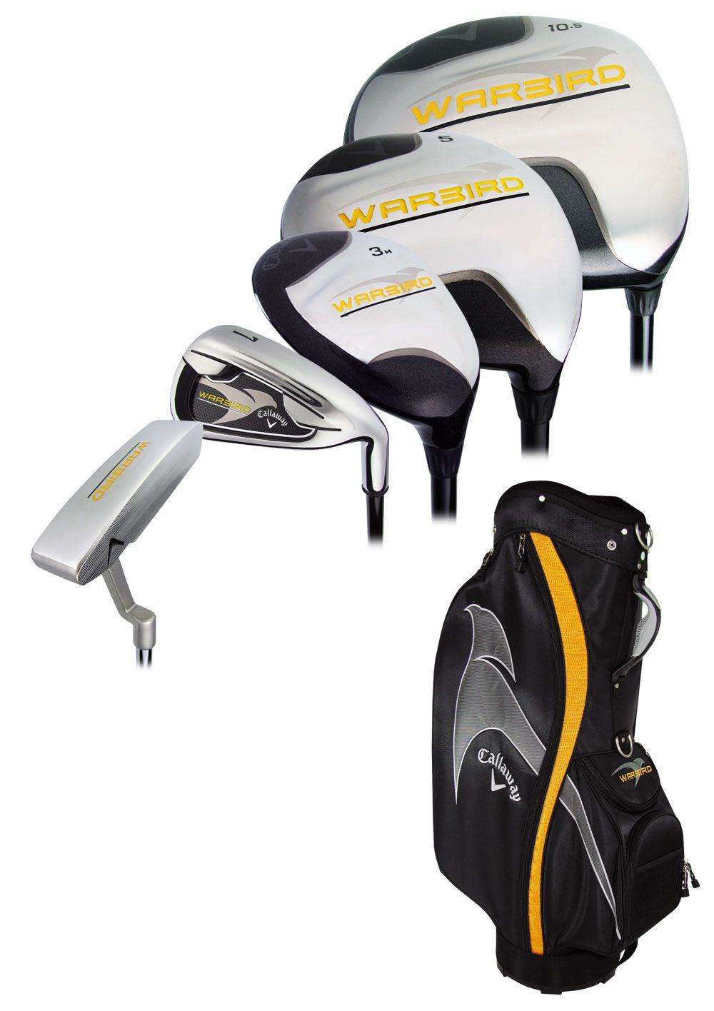 Callaway Warbird Complete Set With Bag Graphite L Rock Bottom Golf
