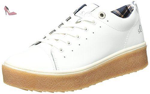23617, Sneakers Basses Femme, Rose (Fuchsia), 37 EUs.Oliver