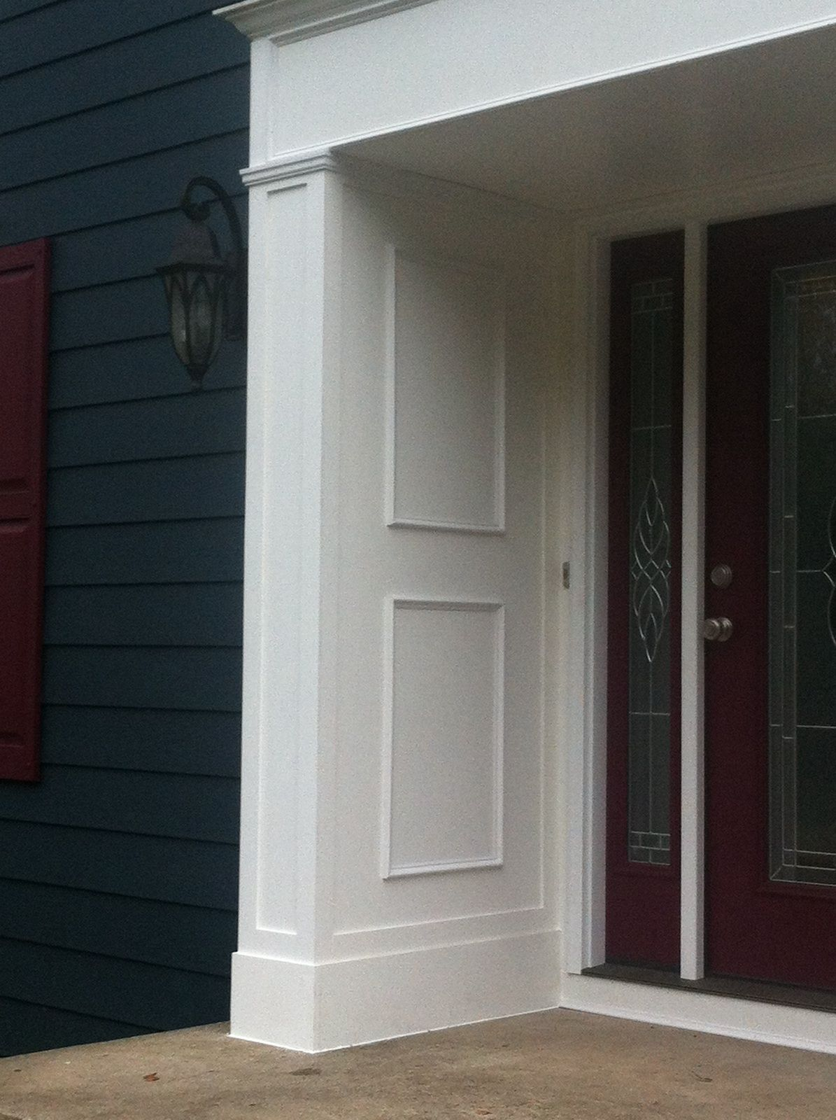 Azek Trim Contractor In Bergen County NJ, Installation Of Royal Celect  Siding On This House