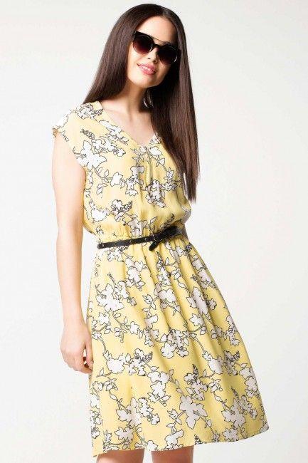 Defacto V Yaka Yazlik Elbise Modeli Kadinlive Com Elbise Elbise Modelleri Moda Stilleri