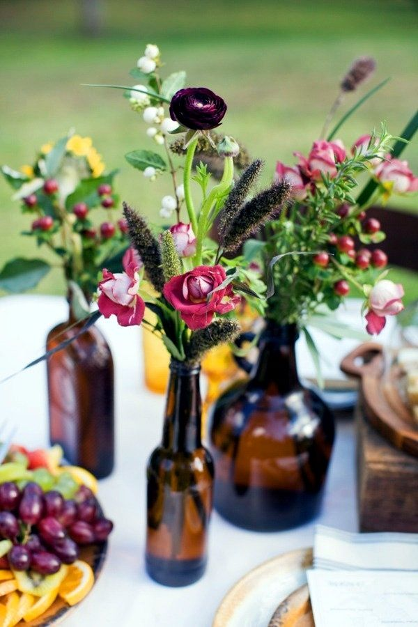 Casamento Diy 20 Arranjos E Centros De Mesa Lindos E Baratos