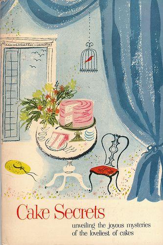 Vintage Cake Secrets cookbook