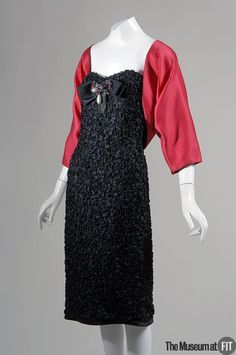 52f75318c14 Evening set: dress and bolero | Designer: Yves Saint Laurent Fall 1985