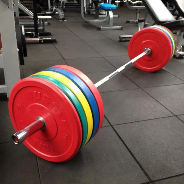 Muscle Motion 100kg Bumper Weight Set In 2020 Bumper Weights Weight Set Gym