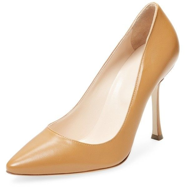 eec328abdcd7 Sergio Rossi Women s Leather High Heel Pump - Cream Tan
