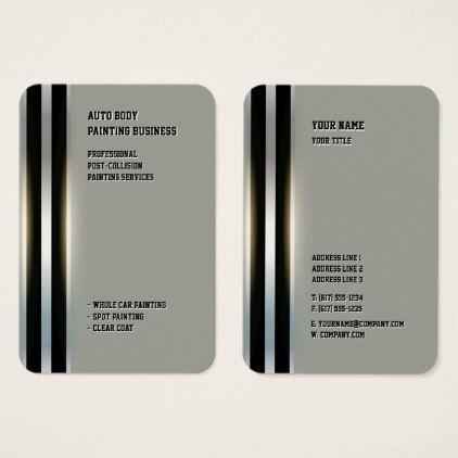 Auto body business cards juvecenitdelacabrera auto body business cards colourmoves
